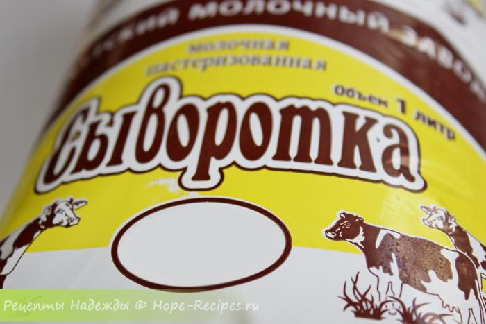Молочная сыворотка для приготовления окрошки
