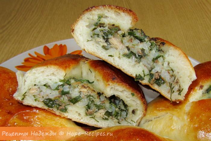 Старорусские пирожки - расстегаи с рыбой