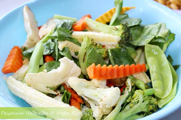 Овощи для приготовления этого блюда могут быть самыми разными, на ваш вкус
