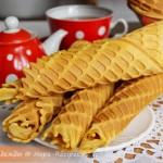 Рецепт домашних вафель на сгущенке