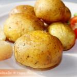 Вкусная жареная картошечка с золотистой корочкой