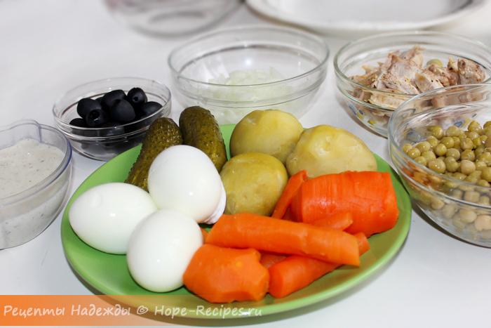 Как приготовить салат Обезьяна на новый год